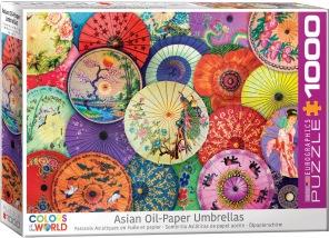 Pussel - Asian Umbrellas -