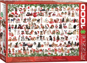 Pussel - Holiday Dogs -