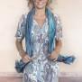 Cashe klänning - LADY DRESS - TURQUISE
