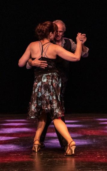 Kurt-Åke och Yvonne från uppvisning på Härnösands dansdag