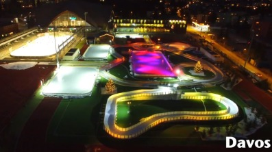 Davos vinteräventyrspark, projekterad, designad och levererad av AST.