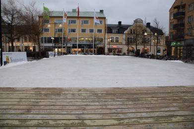 Mobil torgbana Katrineholm 15x30 m, levererad av HockeyPractice.