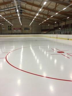 Visätra renovated ice rink