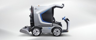 Penguino ice resurfacer for the small ice rink