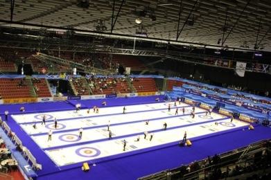Curling VC in Basel 2012, tracks provided by AST.