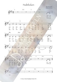 Psalmboken - Psalmboken - utan kopieringsrätt