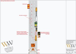TA-plan för beläggningsarbete på motorväg
