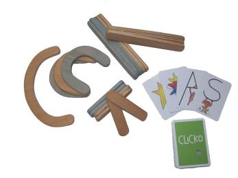 Clicko Byggbox liten -