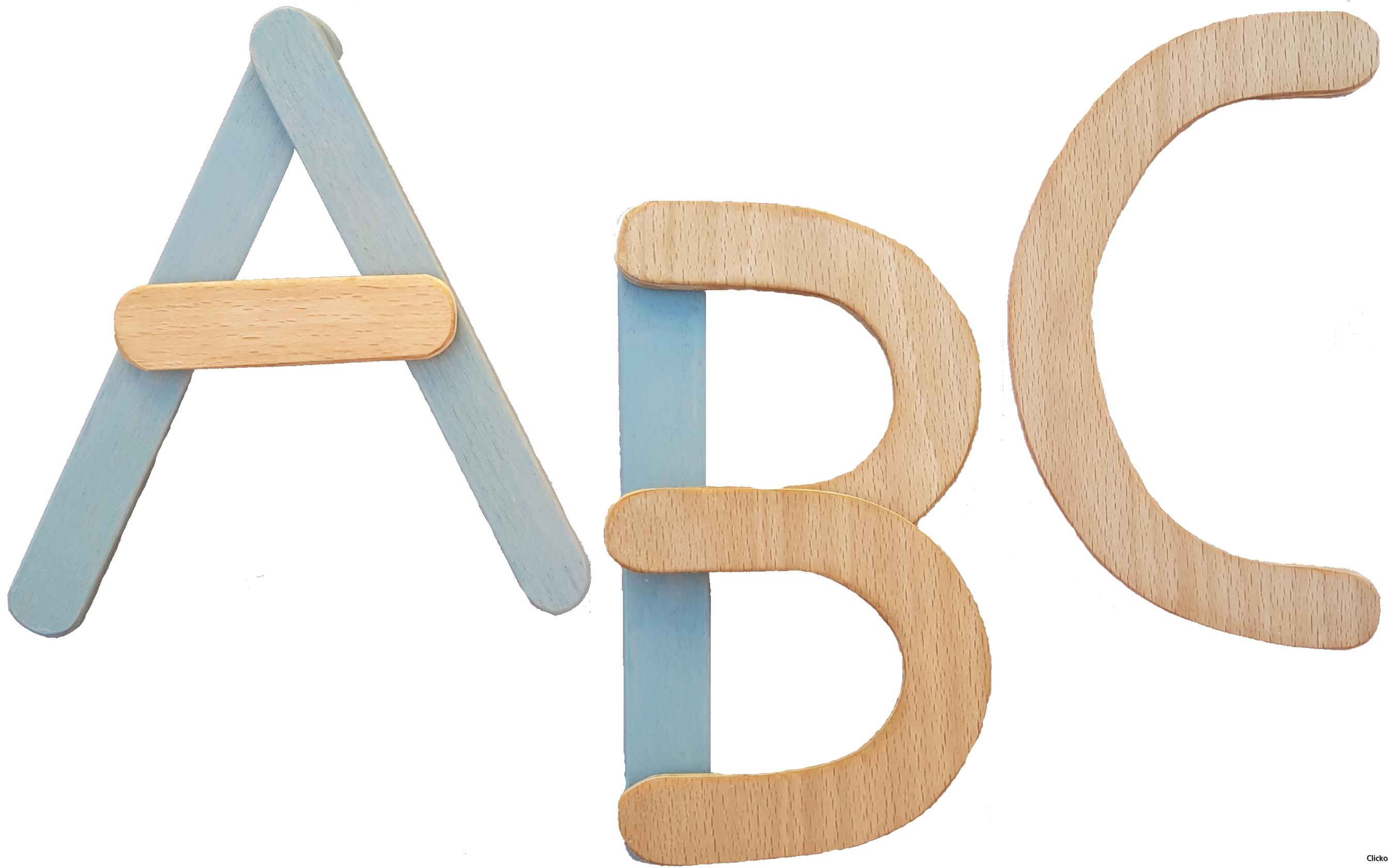 ABC lösa bokstäver