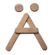 Lösa bokstäver - Ä