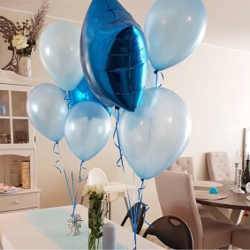 Babyshower | Inspiration | Ballongbåge | Balloons | Unicorn | Falun | Borlänge | Ballonger | Helium | Heliumballonger | Event | Ballongarrangemang | Kalas | Santa | Balloondecorations | Decorations | Tomteballong |