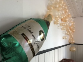 Skumpa | Champagne | Champagneflaska | Falun | Borlänge | Ballonger | Helium | Heliumballonger | Event | Ballongarrangemang | Kalas