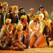 Jesus Christ Superstar - Kristianstads teater, 2013. Foto: Ulf Stjernbo