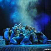 Jesus Christ Superstar - Kristianstads teater, 2013. Foto: Amanda Sigfridsson