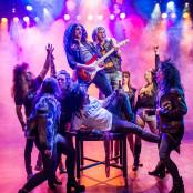 Rock of Ages - Kristianstads teater, 2016. Foto: Amanda Sigfridsson