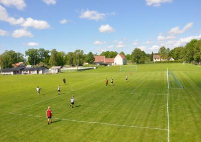 Fotbollsläger i När med boende på Gangvidefarm