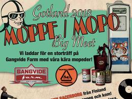 Moppe/mopo big meet på Gotland