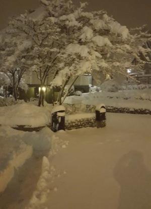 På morgonen samma dag som vårt förhållande tog slut hade det snöat väldigt mycket