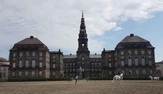 Under våra dagar i Danmark besökte vi bland annat slottet. Snart skulle vi äntligen få sätta in ett embryo och kanske få ett litet barn.