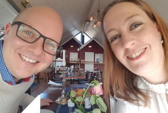 I mars firade vi min födelsedag på samma restaurnag där vi i sommar kommer att ha vår bröllopsfest. Nu har vi även bestämt oss för att göra ett nytt försök i Danmark under våren.