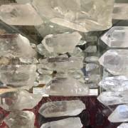 Bergkristallspetsar råa 40-55 gr
