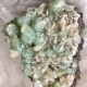 Apophyllite kluster - Grön apophyllite kluster