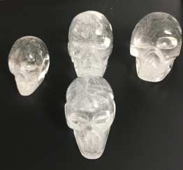 Bergkristall skallar - Bergkristall skalle 57 gr