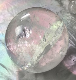 Kulor bergkristall - Bergkristall kula 144 gr