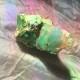 Opal grön, rå - Opal grön rå 106 gr