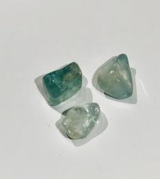 Topas, blå ca 20 mm - Topas blå