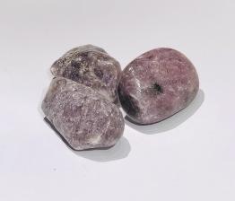 Lepidolit trumlad 40 mm