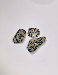 Jaspis- dalmatiner ca 20-25 mm