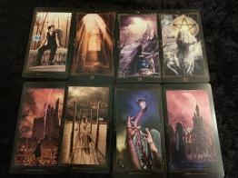 Tarot, dark fairytale tarot -
