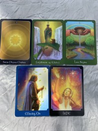 Oracle deck, the  psychic tarot