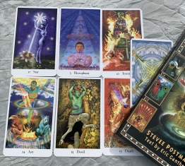 Tarot, the cosmic tribe tarot -
