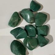 Turmalin grön,(Verdit) trumlad