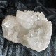Apophyllite kluster - Vit fapophyllite kluster 317 gr