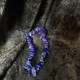 Chip armband - Lapiz Lazuli