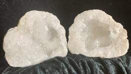 Kalcit geoder, stora