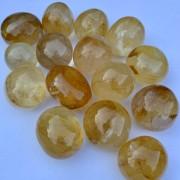 Kalcit guld ca 30-35 mm