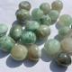 Månsten, grön garnierit - Grön månsten