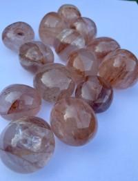Hematoid (röd goldenhealer) ca  30 mm
