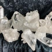 Bergkristallkluster 321-340 gr