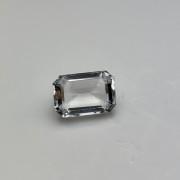 Bergkristall, slipad ädelsten