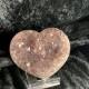 Ametist hjärtan - 258 gr