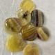 No worry stones - Fluorit, gul
