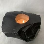 Ljuslykta obsidian