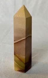 Mookait polerade spetsar - 109 gr