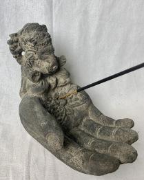 Rökelse hållare Hand Ganesha