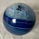 Agat klot färgade - Agat klot blå ca 661 gr ca 79 mm i diameter